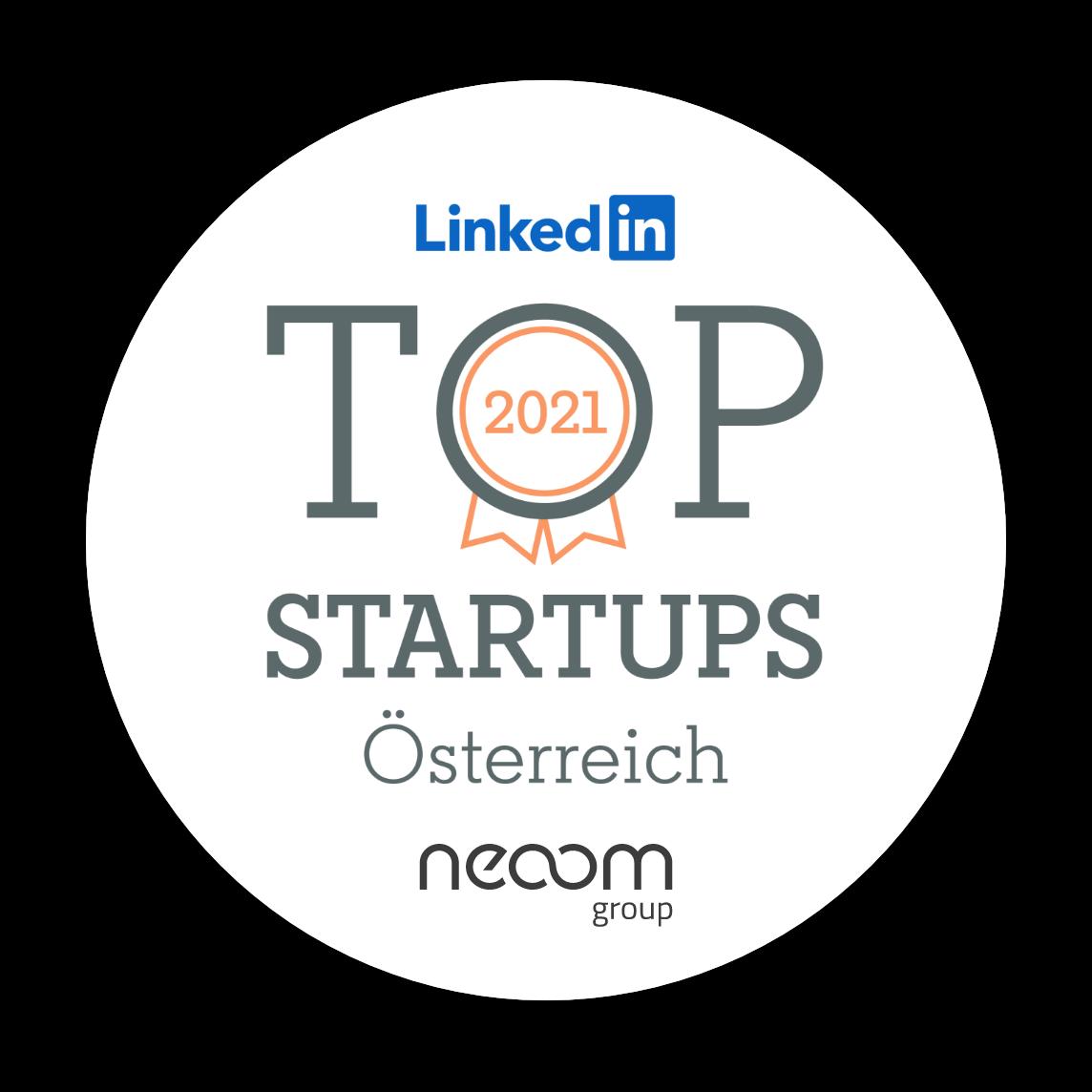 linkedin top startup2021